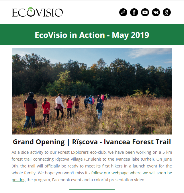 Newsletter EN May 2019