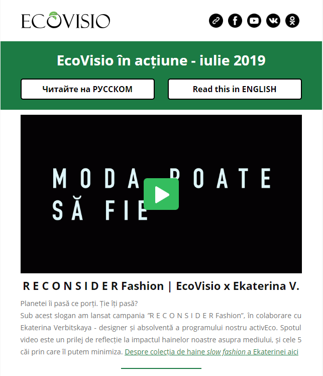 Newsletter RO September