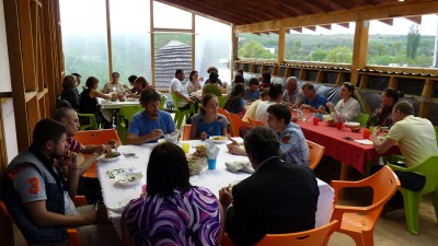 Eco Training Center dining area